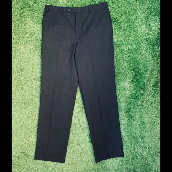 Brooks Brothers Other - Brooks Brothers Men Black Dress Pants Size 36x34